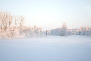 Winterlandschap von Hans Peter Debets
