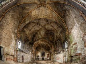 Verlaten plaats - oude kerk van