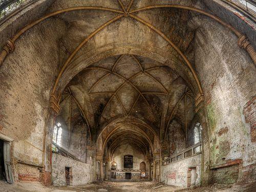 Verlaten plaats - oude kerk