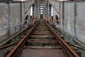 Eisenbahnbrücke von Jack van der Spoel