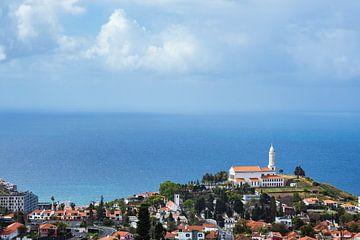 Blick auf Funchal auf der Insel Madeira, Portugal von Rico Ködder