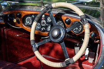 Lagonda 3½ voiture de tourisme britannique des années 1930, de type T, d'un litre sur Sjoerd van der Wal