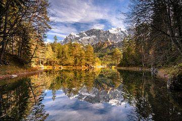 Herbst am Eibsee in Bayern von Achim Thomae
