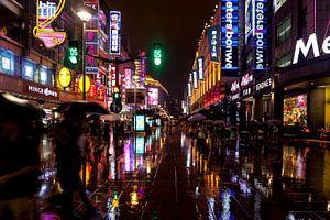 Regen in de straten