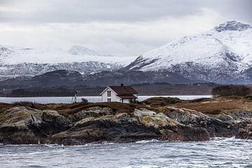 Paysage d'hiver de la Norvège sur marcel wetterhahn