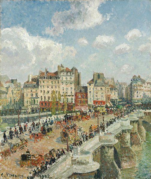 Der Pont-Neuf, Camille Pissarro von Meesterlijcke Meesters