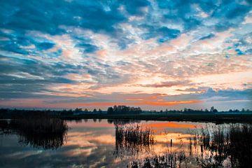 Zonsondergang von Alied Kreijkes-van De Belt