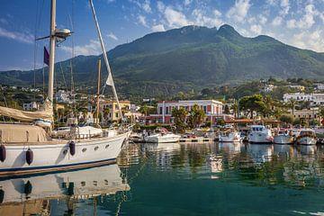Hafen von Lacco Ameno, Ischia, Italien von Christian Müringer