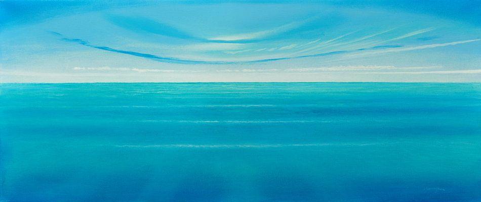 Wasserfarbe van Silvian Sternhagel