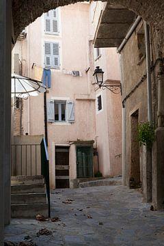 Een van de dorpen van Casinca. van Kees van Dun
