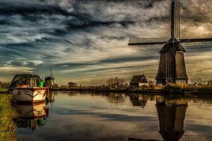 Hoornse Vaart in Alkmaar zo mooi van