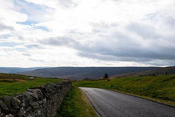 Straße in Schottland von Hans Verhulst
