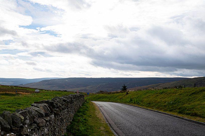 Weg in Schotland van Hans Verhulst