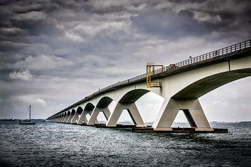 Zeelandbrug-02, Pont sur l'estuaire de Oosterschelde