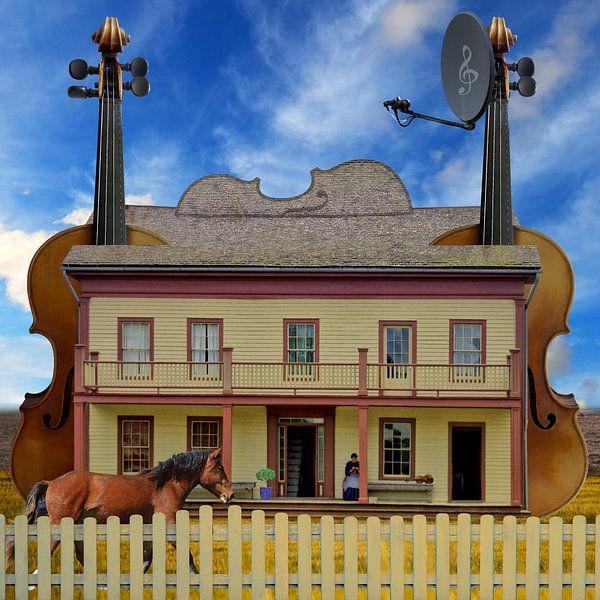 Haus der Violinistin von Harald Fischer