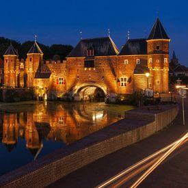 Porte Koppel après le coucher du soleil sur Anges van der Logt