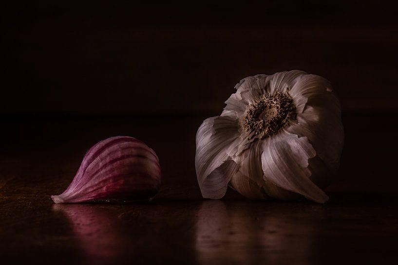 Stilleven knoflook van Martzen Fotografie