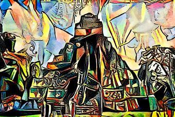 Maya sitemotief 1 van zam art