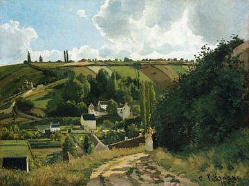 Jalais Hill, Pontoise, Camille Pissarro