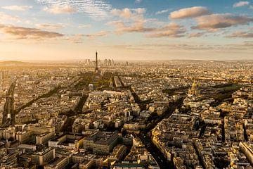 Zonsondergang Parijs - Uitzicht Tour Montparnasse - 4 sur Damien Franscoise