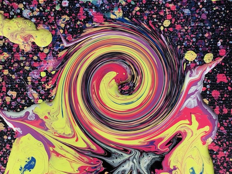 Hypnotische Süßigkeiten von Milky Fine Art