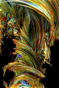 Tornado in color Abstract van