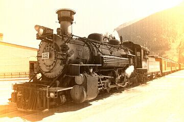 Silverton Railroad van