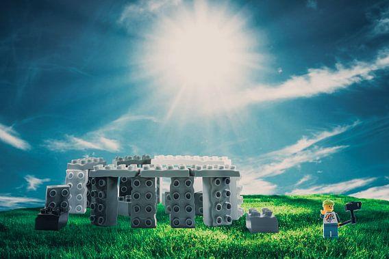 Lego Stonehenge van Marco van den Arend
