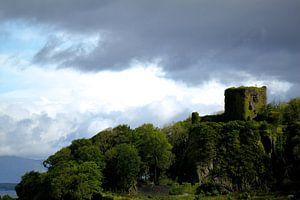 Oban Castle van