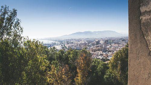 Málaga vanaf Gibralfaro