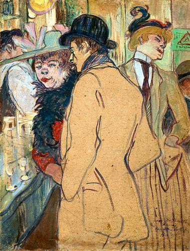 Alfred la Guigne, Henri de Toulouse-Lautrec