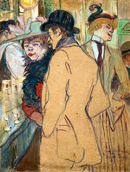 Alfred la Guigne, Henri de Toulouse-Lautrec van Liszt Collection