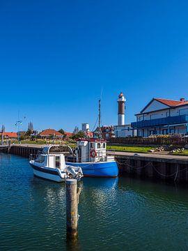 Fischerboote im Hafen von Timmendorf auf der Insel Poel von Rico Ködder