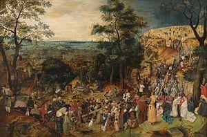 Kruisdraging, Pieter Brueghel de Jonge von