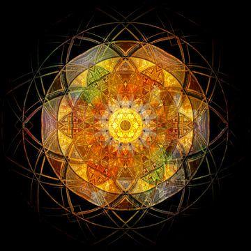 Fenêtre Mandala sur Sabine Wagner