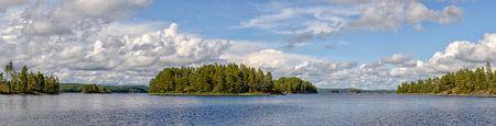 Stora Le See im Dalsland in Schweden von Sjoerd van der Wal