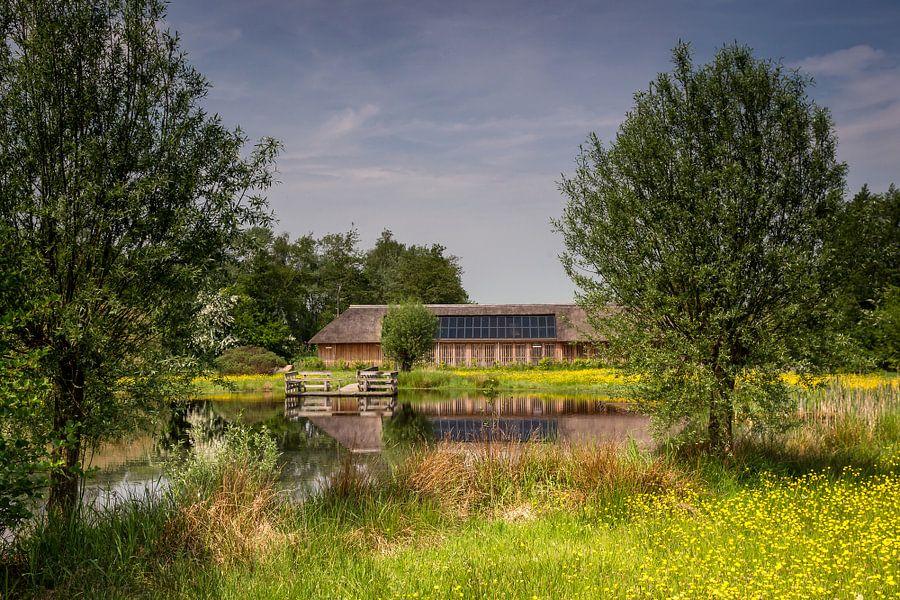 Doorkijkje naar de Curringherschuur Kornhorn van Martijn van Dellen