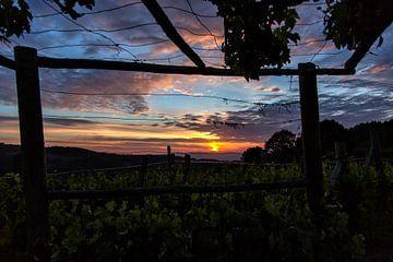 Zonsondergang in Toscane van Joke Beers-Blom