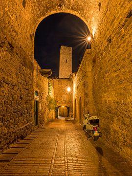 In der antiken Stadt San Gimignano von Denis Feiner