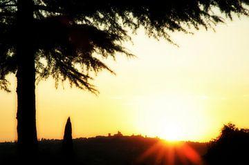 Italiaanse zonsondergang van
