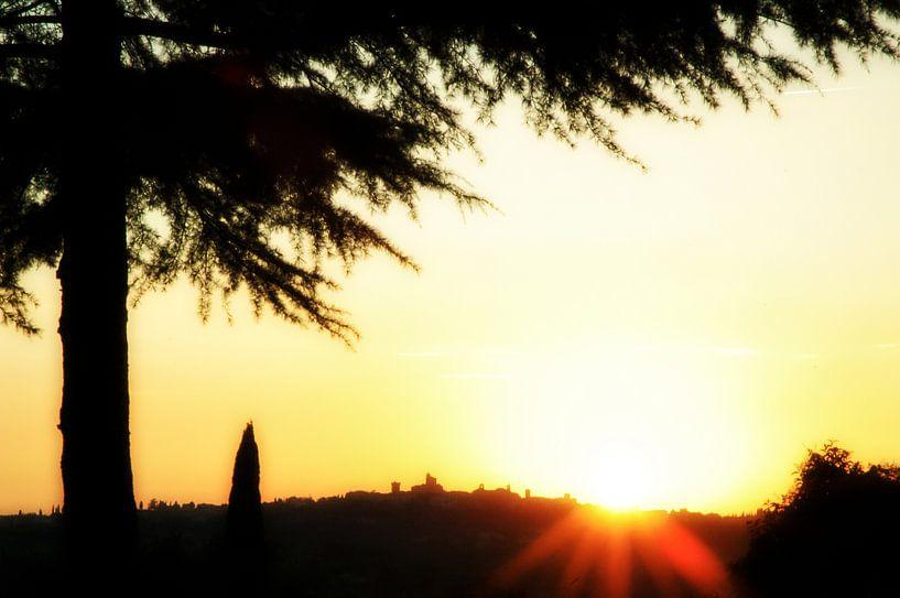 Italiaanse zonsondergang van Barbara Koppe