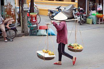 Straatbeeld in Vietnam van t.ART