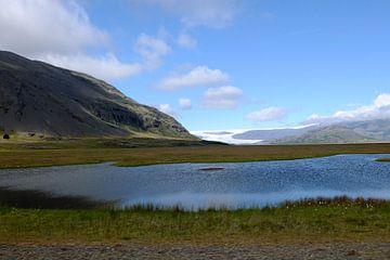 gletsjer Vatnajökull IJsland von Yvonne Machielsen