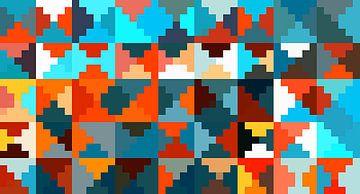 Muster bunt von Marion Tenbergen