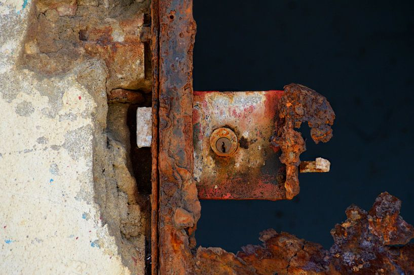 Roestig slot von Carina Stroo Cloeck