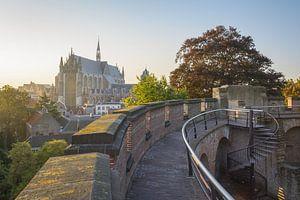 View upon Leiden van