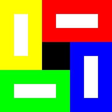 Permutatie | ID=08 | V=94 | Black+White Hole | P #01-DW van Gerhard Haberern