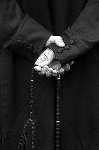De rozenkrans bidden