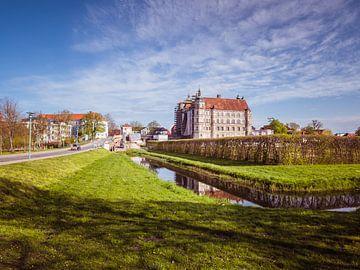 Blick auf der Schloss in Güstrow Mecklenburg-Vorpommern von Animaflora PicsStock