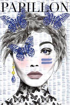 Papillon, Mercedes Lopez Charro van Wild Apple